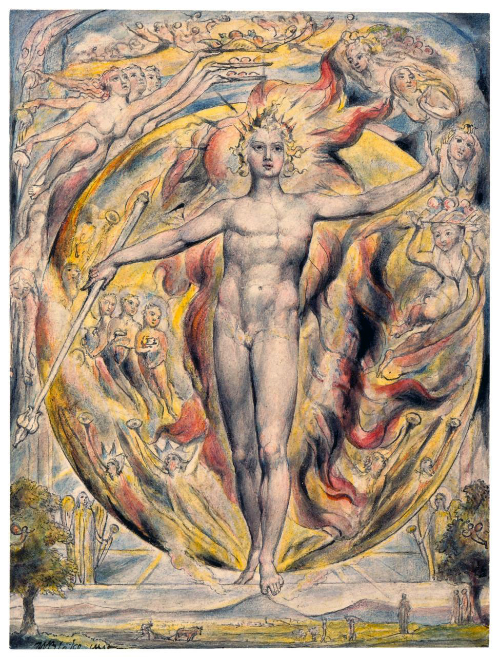 Solar Logos William Blake