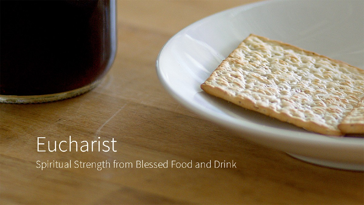 New Video: Spiritual Strength Through Blessed Food and Drink