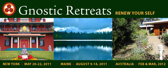 Three Upcoming Retreats