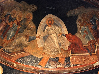 Anastasis fresco Chora Church