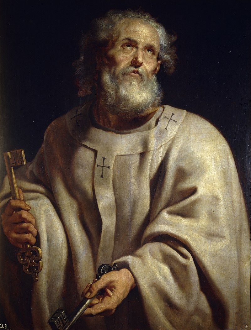 Peter by Rubens
