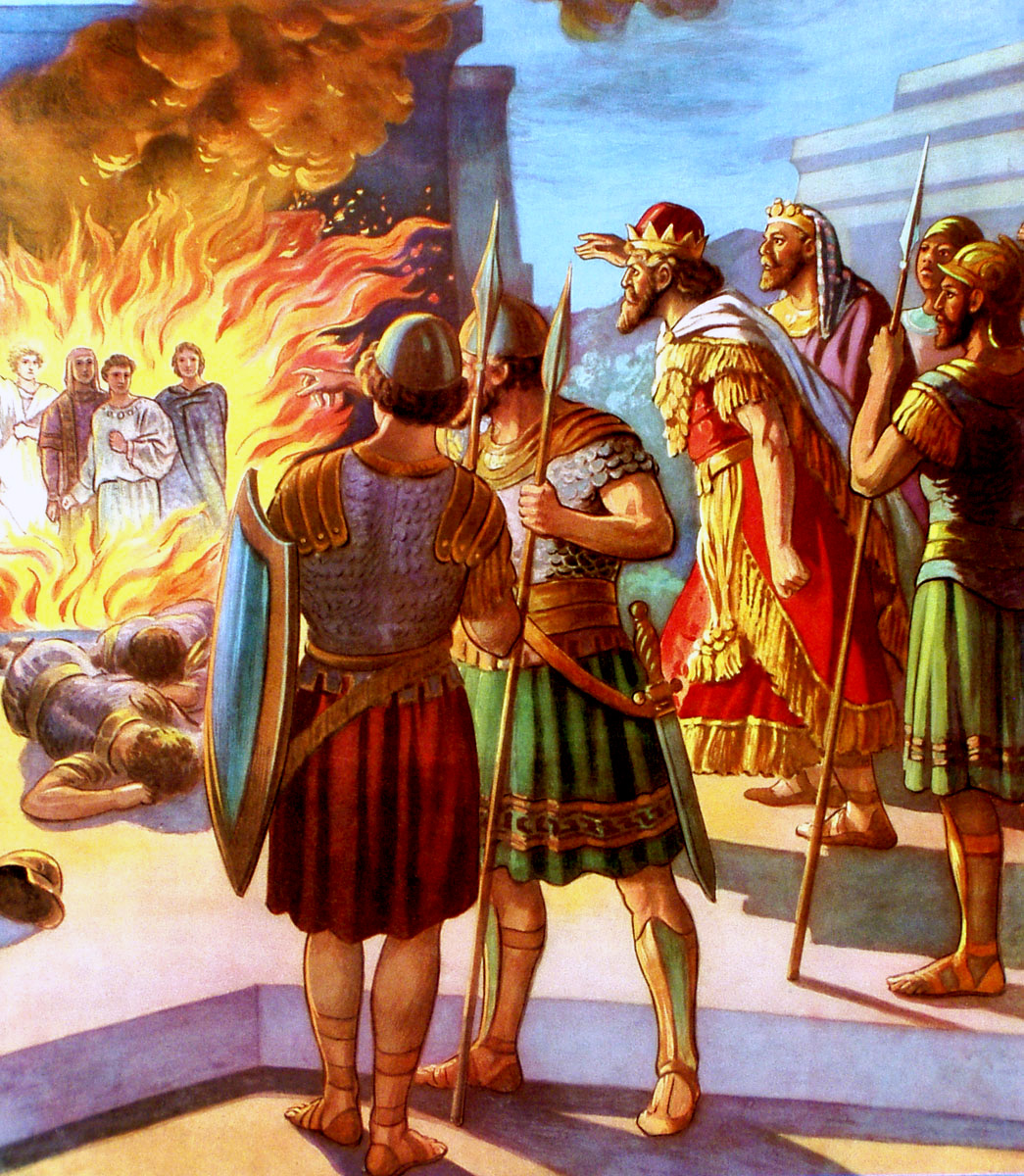 Shadrach, Meshach, and Abed-nego in the Furnace