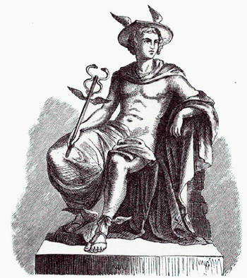 mercury-caduceus-seated