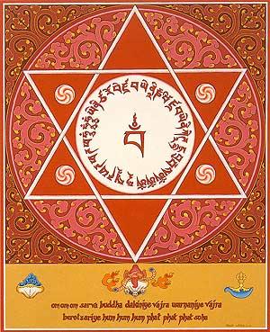 Tibetan star