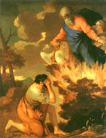 Moses Sees God in the Burning Bush