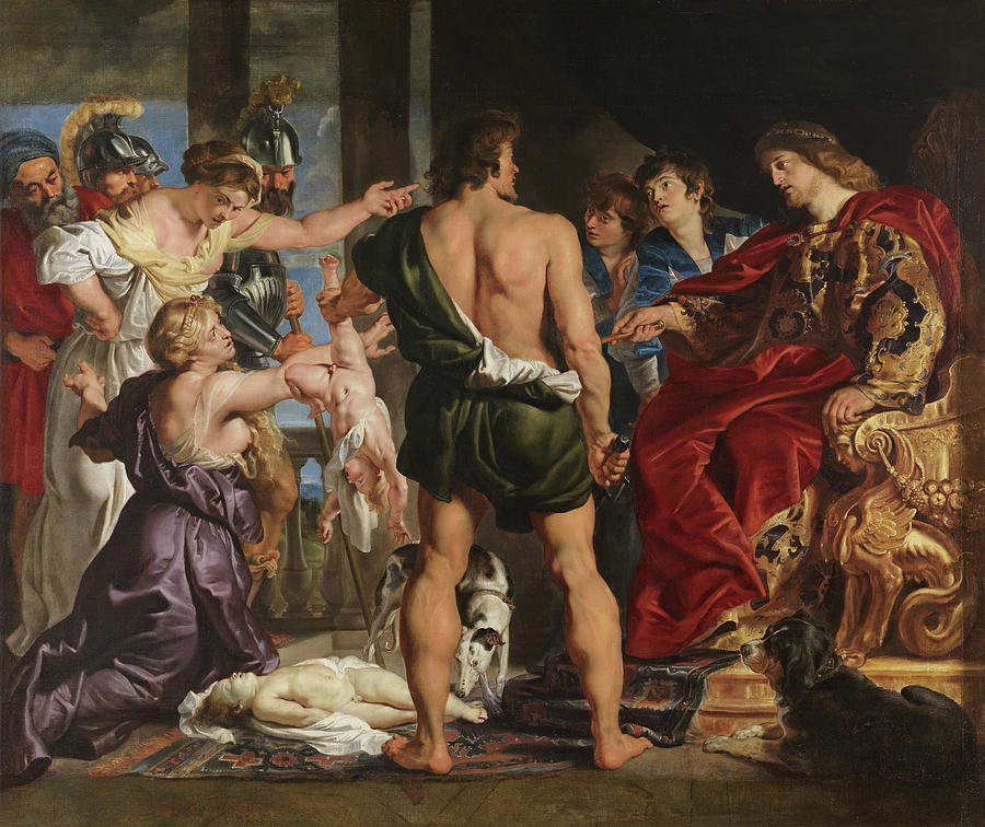 Solomons Judgment by Rubens