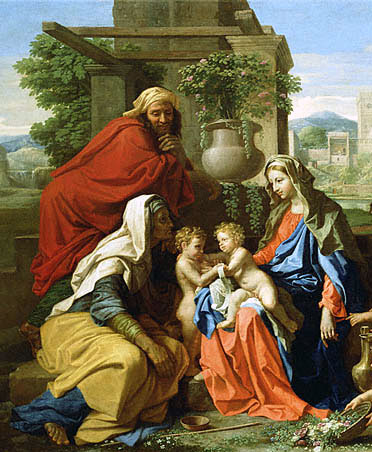 Zachariah, Elizabeth, John the Baptist, Jesus and Mary