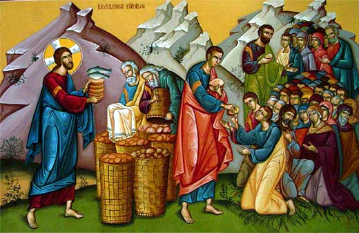 Jesus and the Miracle of the Bread and Fish