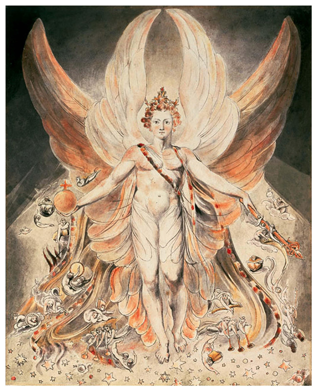 Lucifer, by William Blake