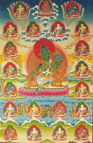 Twenty-one Forms of Tara