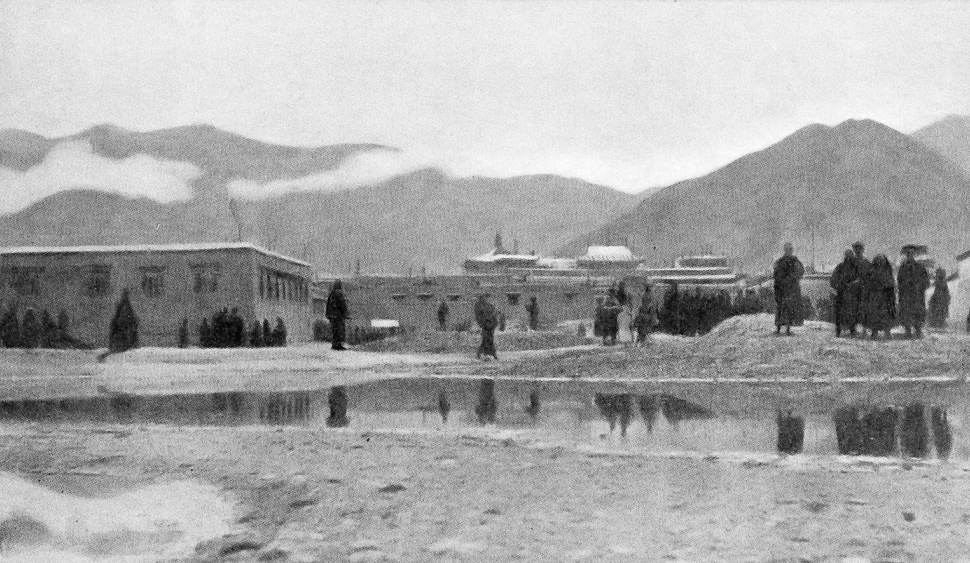 Jokhang in the mid-1840s