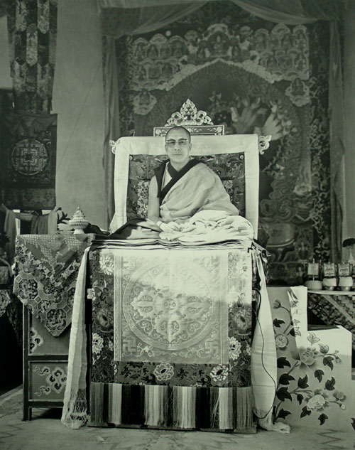 dalai lama at kalachakra initiation 1974