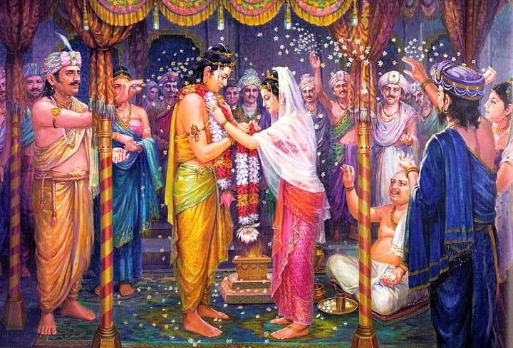 buddha shakyamuni and his wife