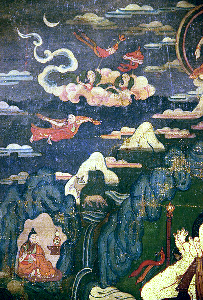 milarepa-flying
