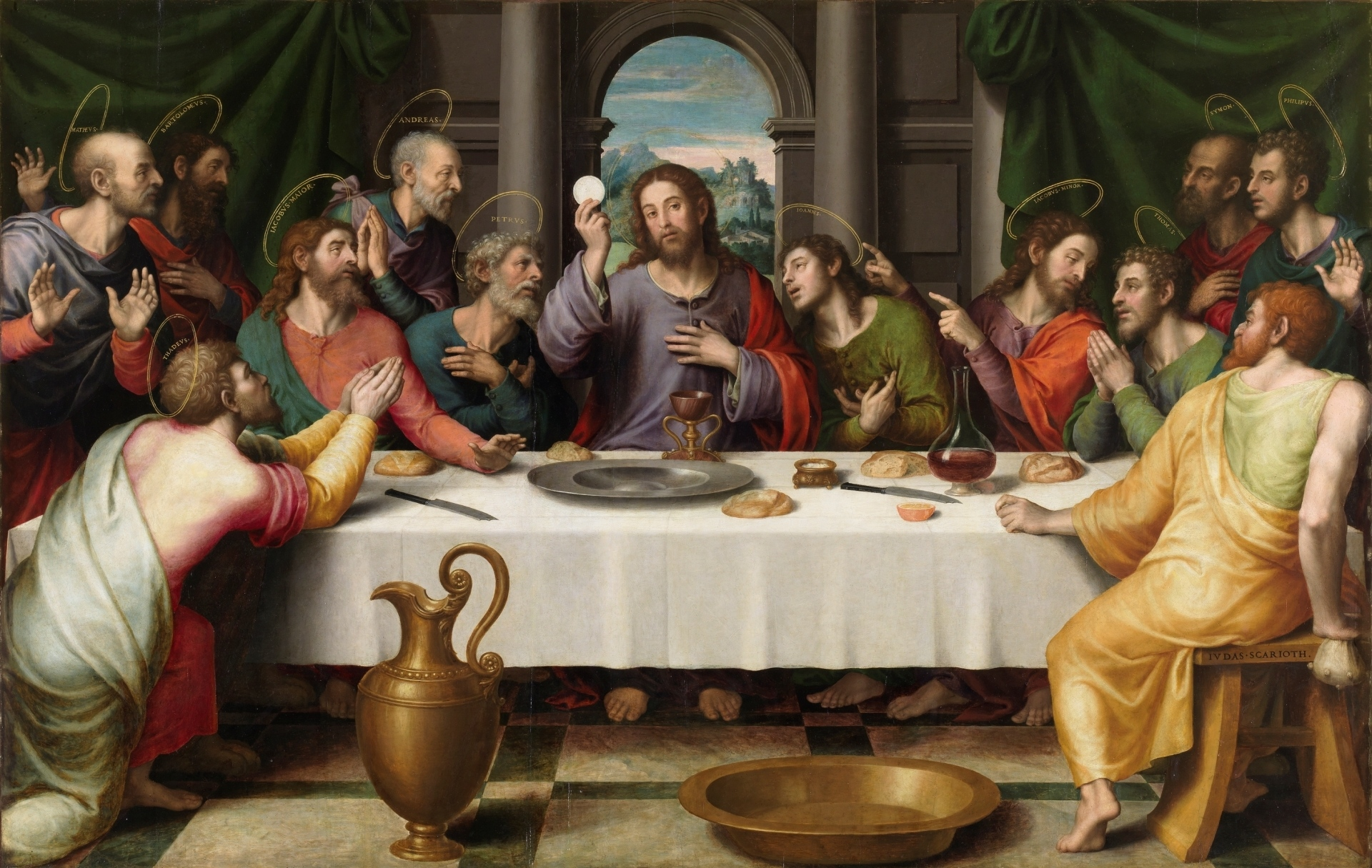 Última Cena (Last Supper) by Juan de Juanes