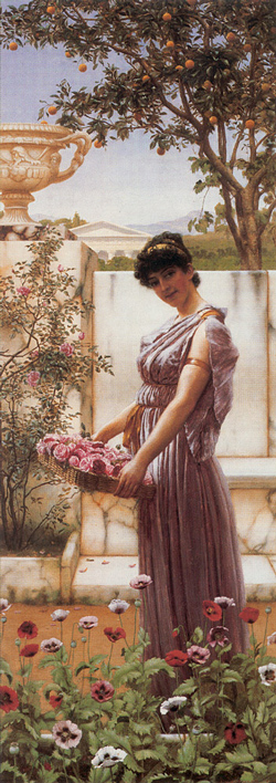 Godward_The_Flowers_of_Venus_1890
