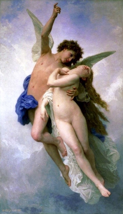 Eros (Christ) restores Psyche (the Soul) to its state of purity