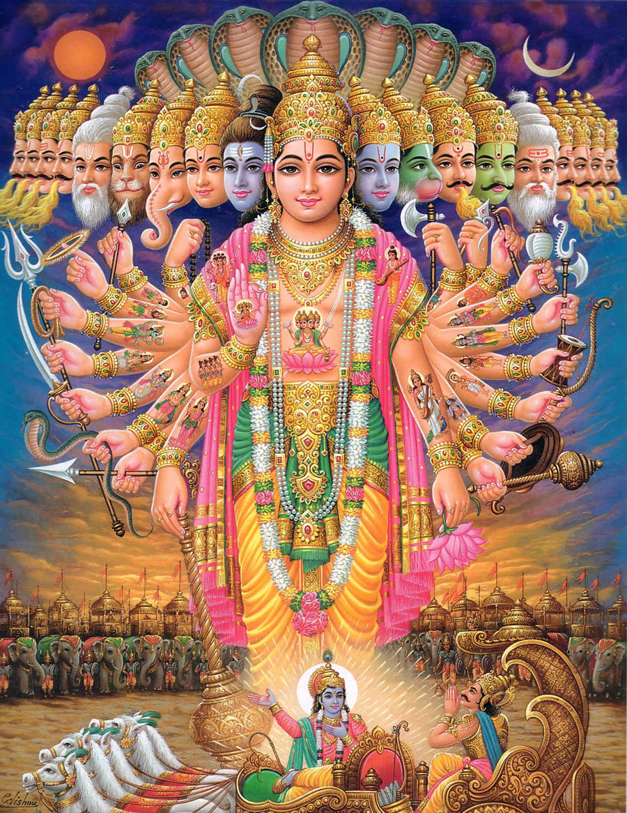 Vishnu the Supreme God
