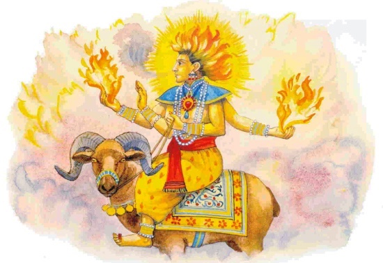 Agni, God of Fire