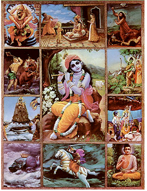 incarnations-of-vishnu