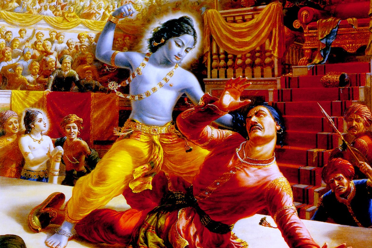 The Warrior Krishna