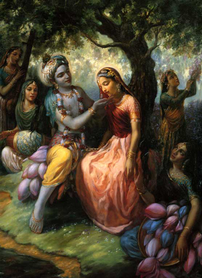 krishna and radharani
