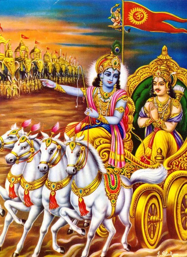 krishna-arjuna-battle