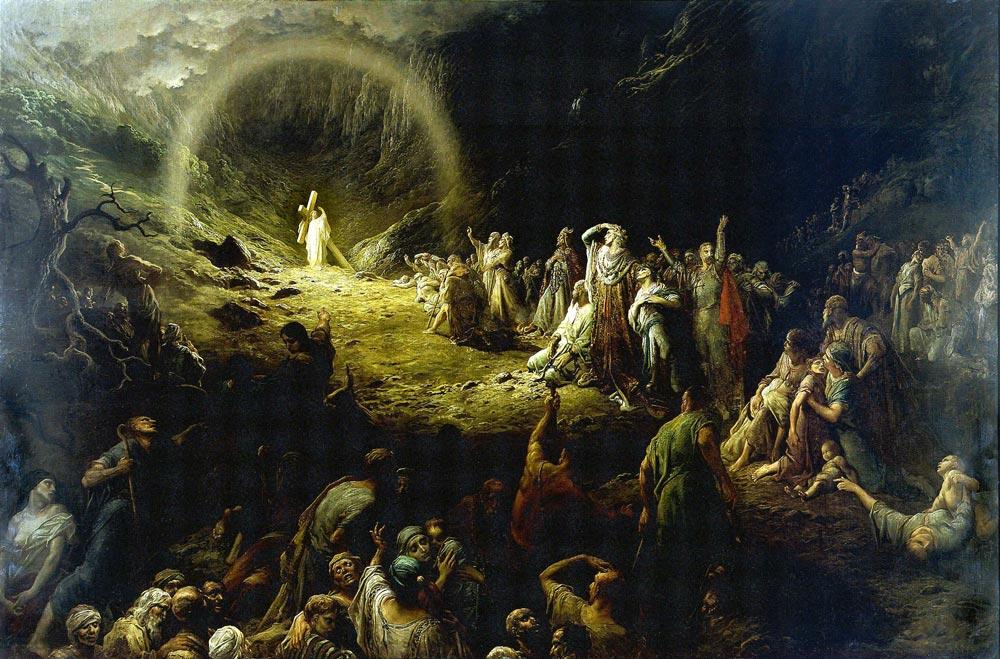 Jesus in Hell