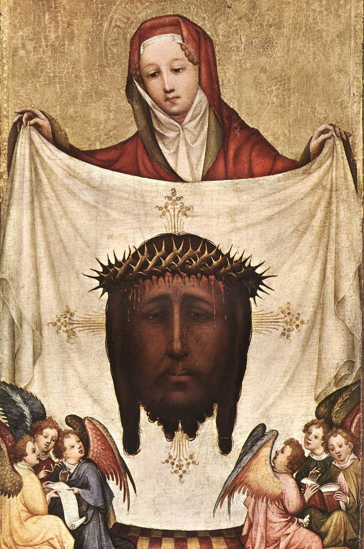 st veronica with the holy kerchief
