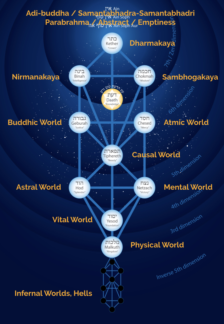 tree of life shows the path of liberation