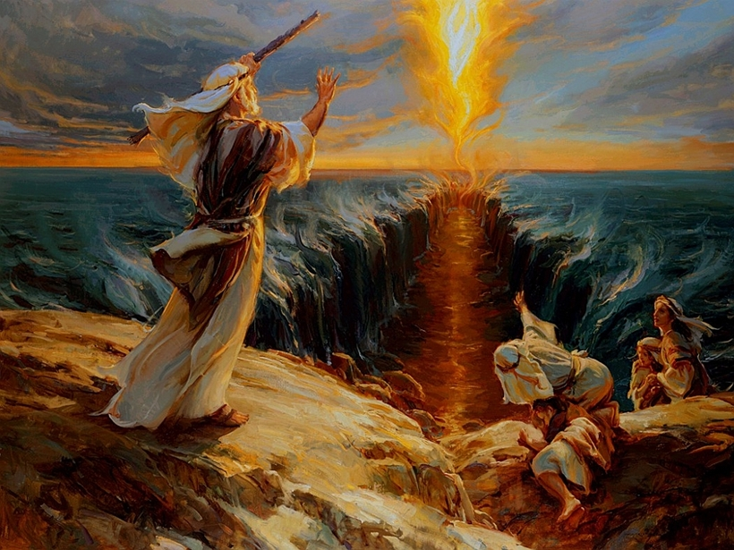 Moses and the fire of God