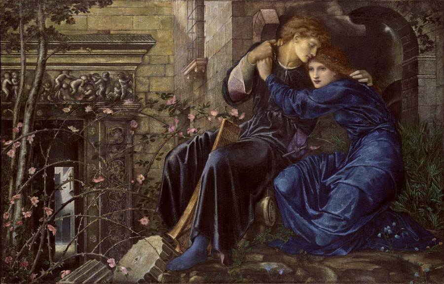 Love Among the Ruins, c. 1873 by Sir Edward Coley Burne-Jones