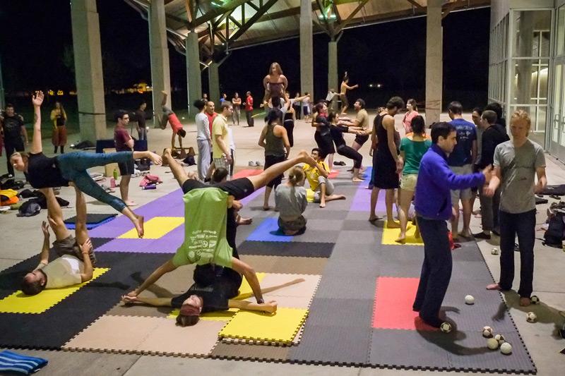 "modern ""yoga."""
