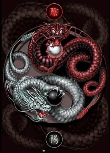 Taoism Symbols Dragon: Rune Jera