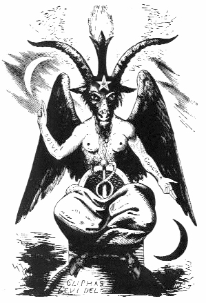 Baphomet as illustrated by Eliphas Levi