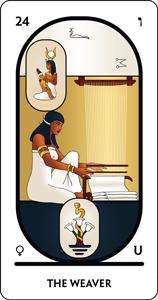 Tarot Arcanum 24 The Weaver